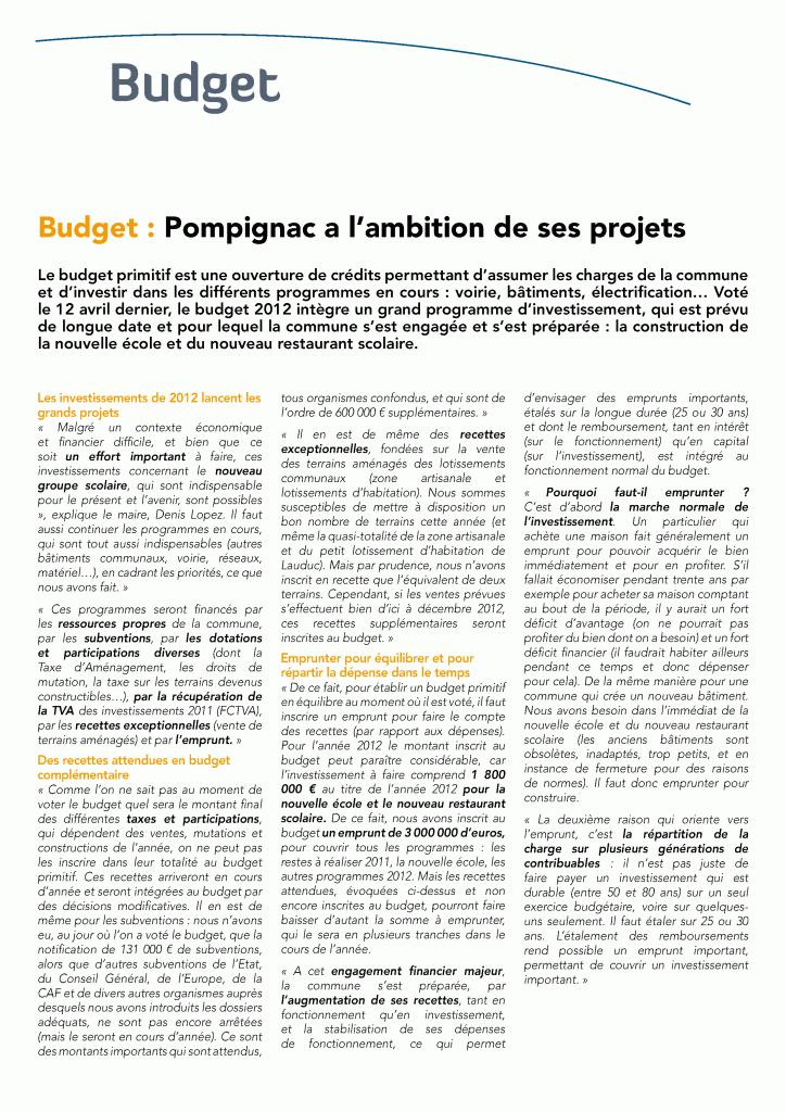 BUDGET 2012 budget2012lopez